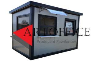 Portiernia,-budka-parkingowa,-warownia,-pomieszczenie-ochrony,-kiosk,-pawilon-handlowy-W-40